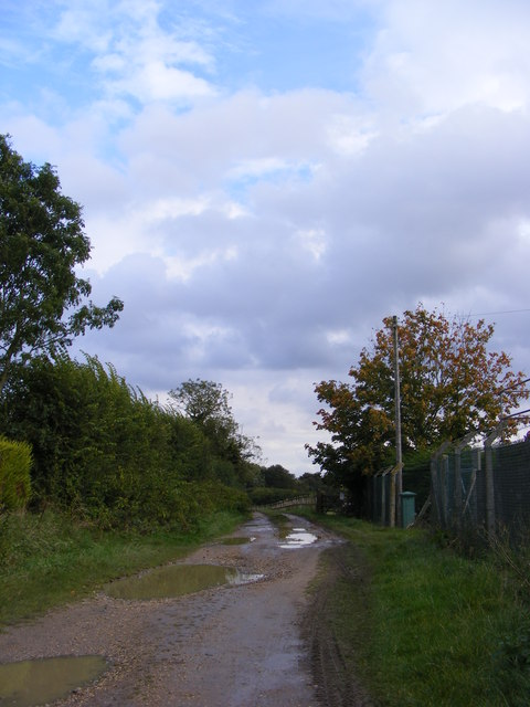 Bridleway off Redisham Road