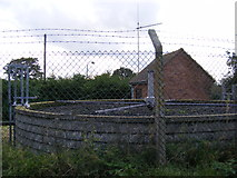 TM4084 : Anglian Water Treatment Works by Adrian Cable