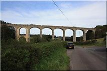 SY3192 : Cannington Viaduct by John Stephen