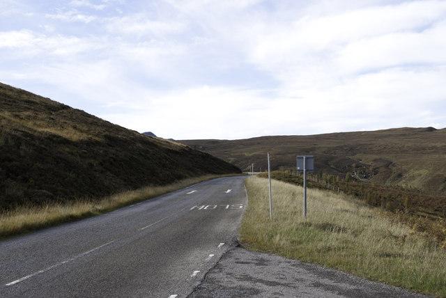 Road west to Gairloch