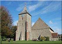 TQ5802 : St Mary the Virgin church, Willingdon by Julian P Guffogg