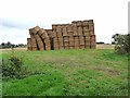 TF2078 : Straw bales, Sotby by Oliver Dixon