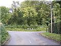 TM4186 : Redisham Road, Ringsfield Corner by Adrian Cable