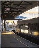 TQ2775 : Train at Clapham Junction by Derek Harper