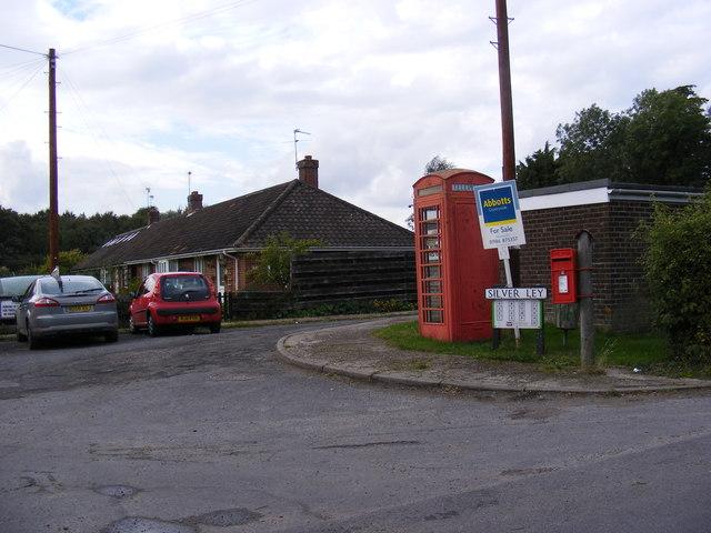 Silver Ley, Telephone Box & Silver Ley Postbox