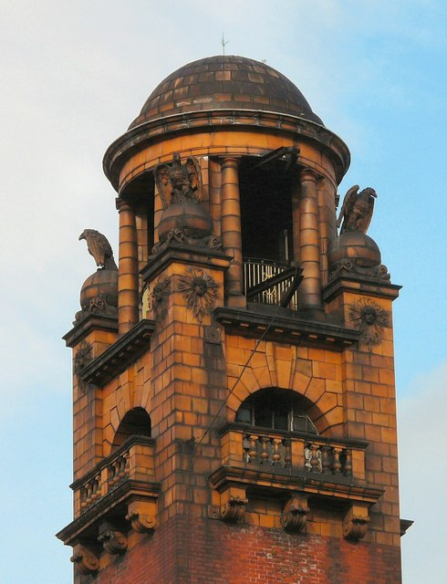 London Road fire station tower