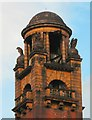 SJ8497 : London Road fire station tower by Gerald England