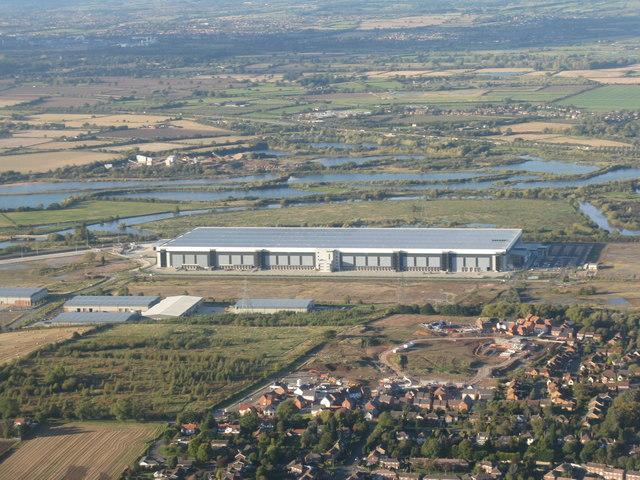 Industrial building near Castle Donington