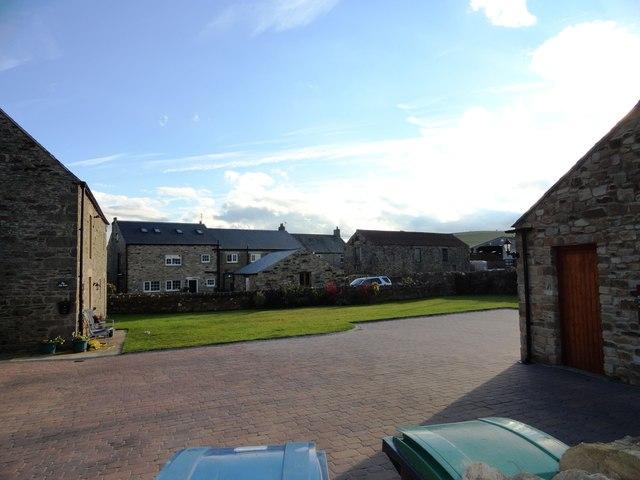 Converted farm buildings at Newbiggin