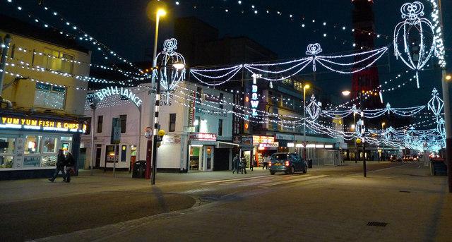 Promenade at Birley Street junction