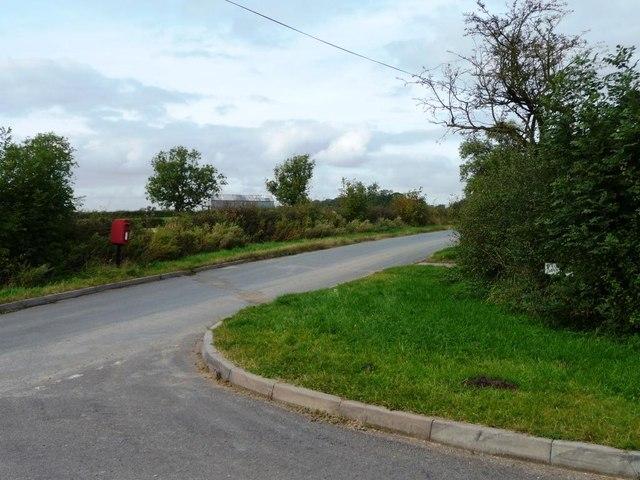 Hanbury Woodend postbox