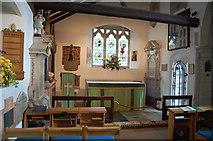 TQ5802 : The Ratton Chapel, St Mary's church, Willingdon by Julian P Guffogg