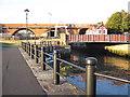 NZ2664 : The Ouseburn meets the Tyne by Alan Heardman