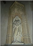 ST5906 : St Mary, Melbury Bubb: statue (a) by Basher Eyre