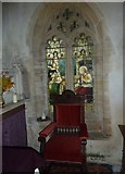 ST5906 : Inside St Mary, Melbury Bubb (v) by Basher Eyre