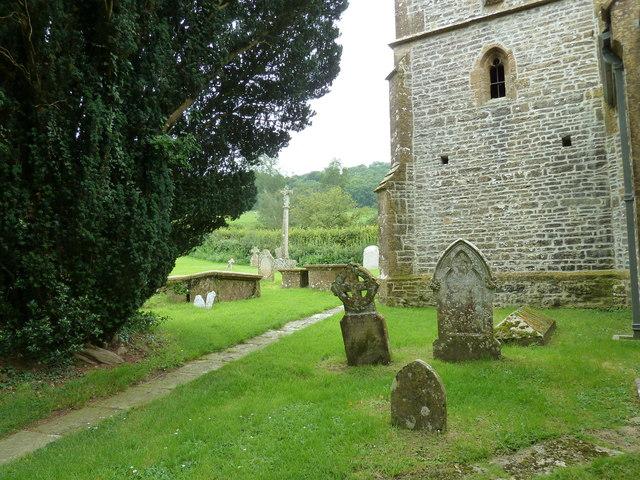 St Mary, Melbury Bubb: churchyard (H)