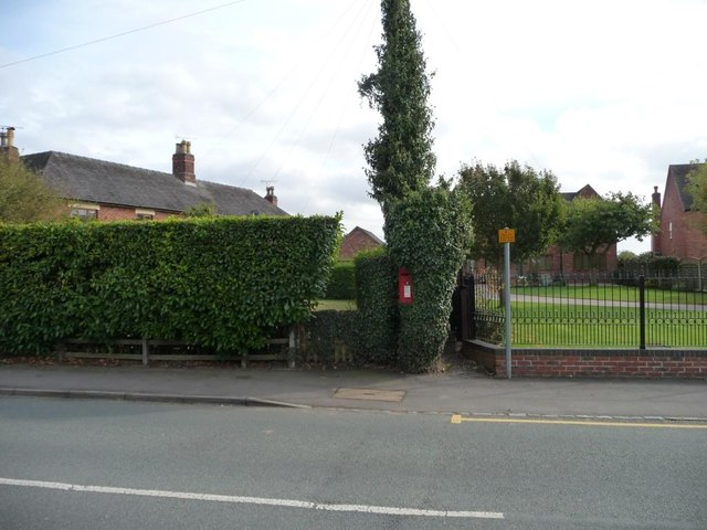 Village postbox, Main Road, Anslow