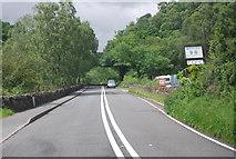 SH7357 : A5 passing Bryn Glo by N Chadwick