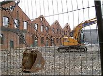 SU1484 : Shelled factory by Neil Owen