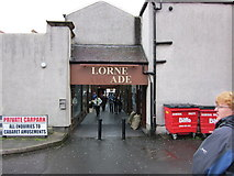 NS3321 : Lorne Arcade, Ayr by Billy McCrorie