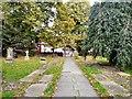 SJ9286 : Norbury Parish Church Lychgate by Gerald England