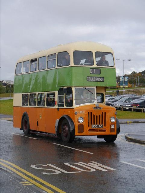 GVVT Open Day 2012: A Glasgow Corporation Leyland Titan At Riverside Museum