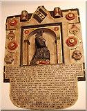 TQ5802 : Memorial to Eleanor Parker, St Mary's church, Willingdon by Julian P Guffogg