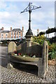 SO5710 : Former drinking trough, Coleford by Philip Halling