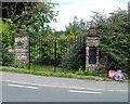 ST4894 : Sealed up former postbox, Mynydd-bach by Jaggery