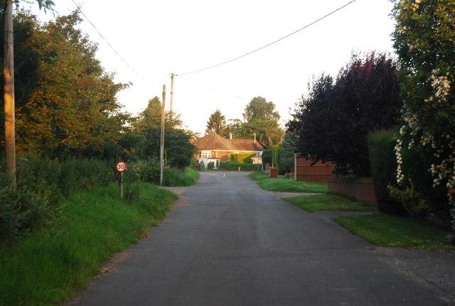 School Lane, Little Melton