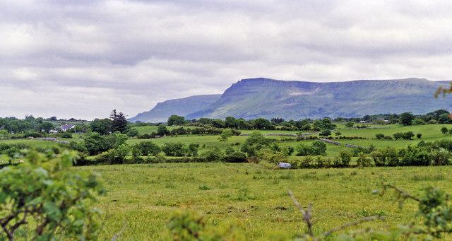 Dartry Mountains from N15 (Donegal - Sligo) road north of Grange (Co. Sligo)