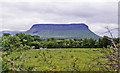 G6649 : Benbulben (1,725 ft.), Ireland's 'Table Mountain', from Grange by Ben Brooksbank