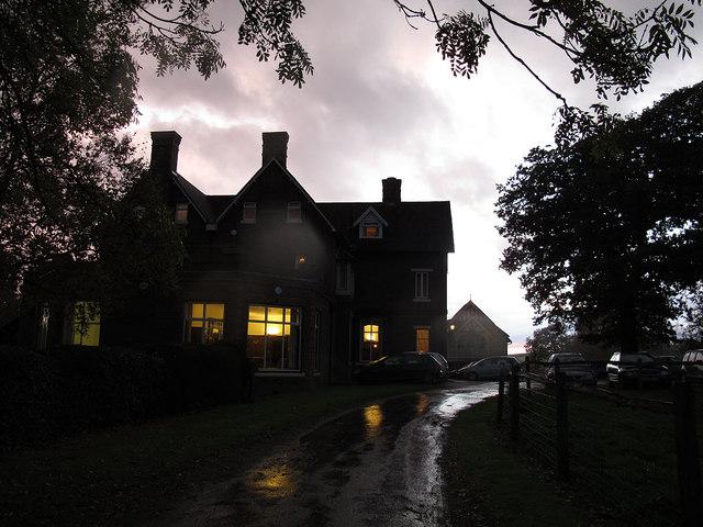 Wychcroft at dusk
