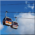 TQ3979 : Emirates cable cars by Oast House Archive