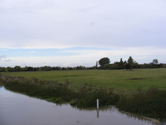 Fields next to the River Great Ouse