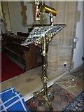 ST6902 : Alton St Pancras: lectern by Basher Eyre