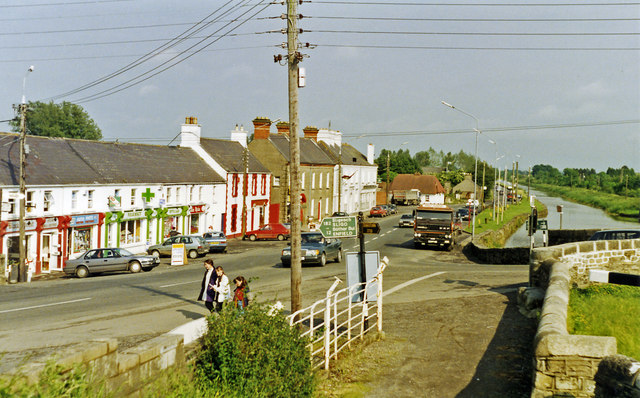 Leaving Kilcock on N4, the main road to Dublin