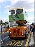NS5565 : GVVT Open Day 2012: A Glasgow Corporation Leyland Titan At Riverside Museum Bus Stop by James T M Towill