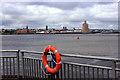 SJ3489 : Liverpool Lifebelt by Des Blenkinsopp