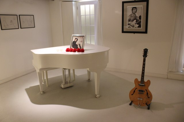 'Imagine' Exhibit at The Beatles Story, Liverpool