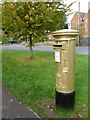 SU7239 : Alton: postbox № GU34 96, Paper Mill Lane by Chris Downer
