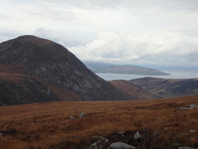 View from Beinn Tarsuinn