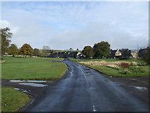 NY9393 : The road through Elsdon by JThomas