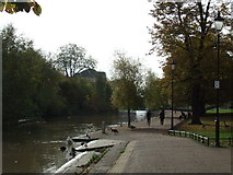TL0449 : River Great Ouse, Bedford by Malc McDonald