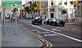 J3473 : Bus lane, Cromac Street, Belfast by Albert Bridge