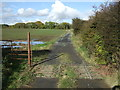 NZ0886 : Track to Garden House by JThomas