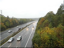 TQ1662 : The A3 heading south from Claygate by David Howard