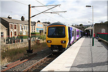 SK0394 : Glossop Station by roger geach