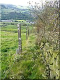 SE0125 : Hebden Royd Footpath 61, south-eastern branch by Humphrey Bolton