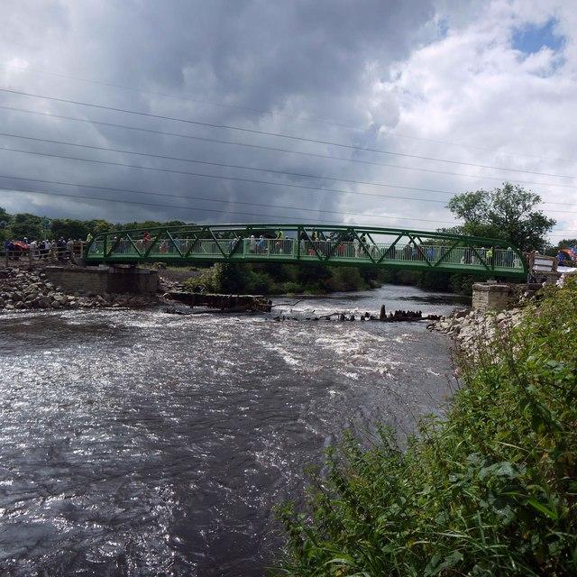 Footbridge Over the River Goyt